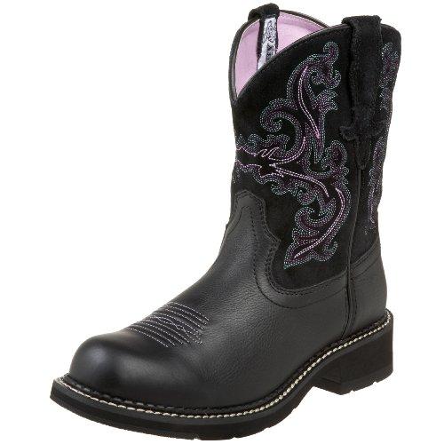 Naisten Kokoelma Ariat Boot Cowboy Länsi Fatbaby ZEEPwdq