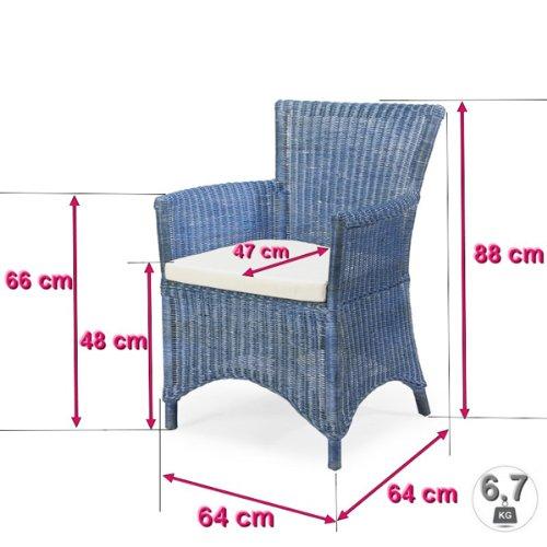 Rotin Design REBAJAS : -27% Sillon de ratan de comedor o de ...