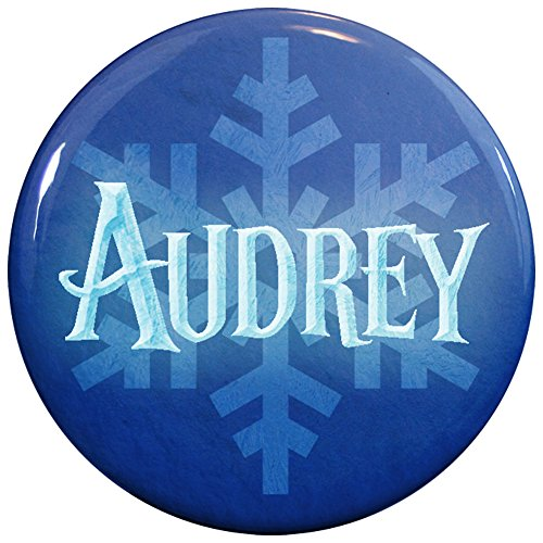 [Buttonsmith® Audrey Winter Ice Name Tag] (Audreys Costume Castle)