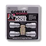 Gorilla Automotive 61621 Acorn Gorilla Guard Locks (12mm x 1.25 Thread Size) - Pack of 4