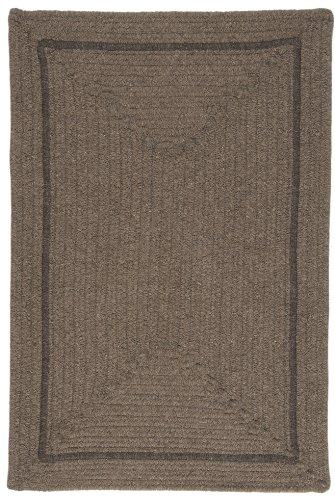Shear Natural Rug, 12' x 15', Latte - Latte Braided Rug