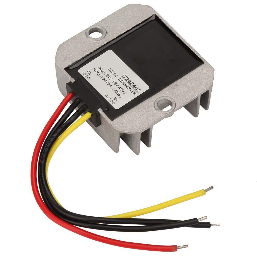 Regolatore di tensione Buck Converter 8-40V a 24V Step Up Down Converter Boost Buck tensione regolata modulo trasformatore di alimentazione 2A