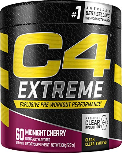 Cellucor C4 Extreme 60 Servings  Midnight Cherry