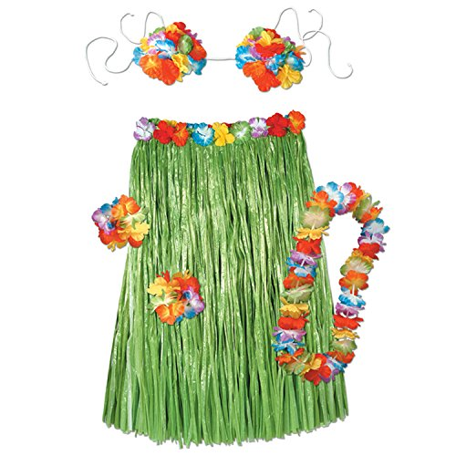 Beistle 50494 Adult Hula Set