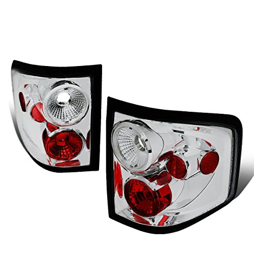 - For 2004-2008 Ford F150 Flareside Chrome Housing Altezza Style Tail Light Brake/Parking Lamps