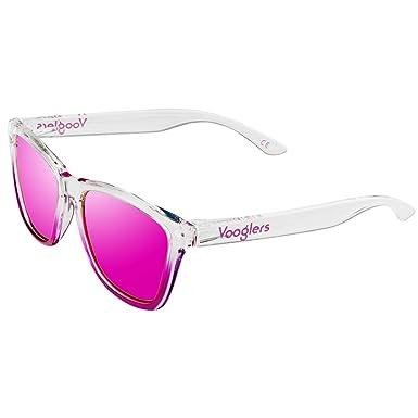 Vooglers® Lunettes De Soleil Polarisées Violet Sunglasses Unique Bora Bora Beach Polarized Uv400 Cadre Lumineux Brillant Clair gHRMv