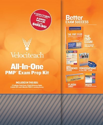 All-in-One PMP Exam Prep Kit (Test Prep series) by Crowe PMP PgMP, Andy (November 1, 2010) Hardcover