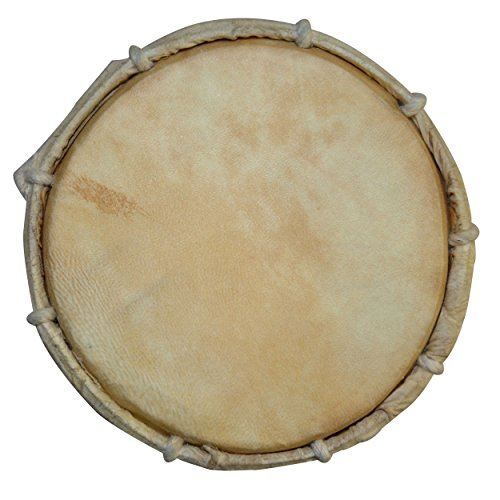 DronaIndia Damru Hand Percussion Handmade Indian Musical Instrument