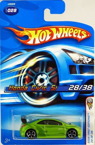 2006 Hot Wheels Faster Than Ever First Editions 28/38 - Honda Civic SI