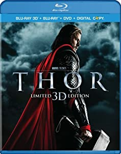 Cover Image for 'Thor (Three-Disc Combo: Blu-ray 3D / Blu-ray / DVD / Digital Copy)'
