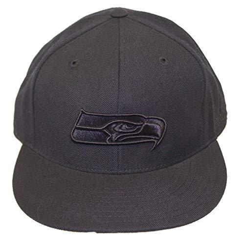 対話廃棄能力NFL Licensedシアトル?シーホークスFittedフラットBilled野球帽子キャップ蓋