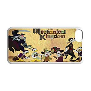IPhone 5C Phone Case for Classic theme Disney Mickey Mouse Minnie Mouse cartoon pattern design GDMKMM941002