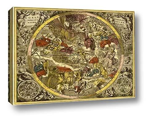(Maps of The Heavens: Coelistellati Museumistianina by Andreas Cellarius - 17