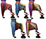 5Pcs-25pcs Casual Aladdin Boho Hippie Pants Trouser Wholesale Lot (Multi-25pcs)