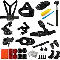 Lightdow OEM Pro Accessory Kit Amateur - Prosumer - Professional Sports Camera Accessories Bundle for LD4000 LD6000 LD 4K Go Pro Gopro Camera (Professional Bundle)
