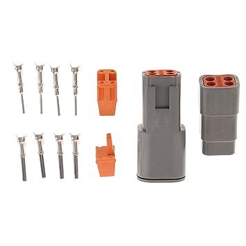 Sharplace 1 Kit de Terminales de Cable para Reparación y ...