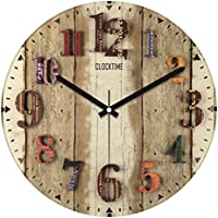 Clocktime By Cadran 30x30 Cm MDF Duvar Saati