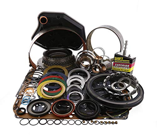 - Ford 4R70W 4R75W Overhaul Transmission Rebuild Deluxe Level 2 Kit 2004-ON W/Bonded Piston