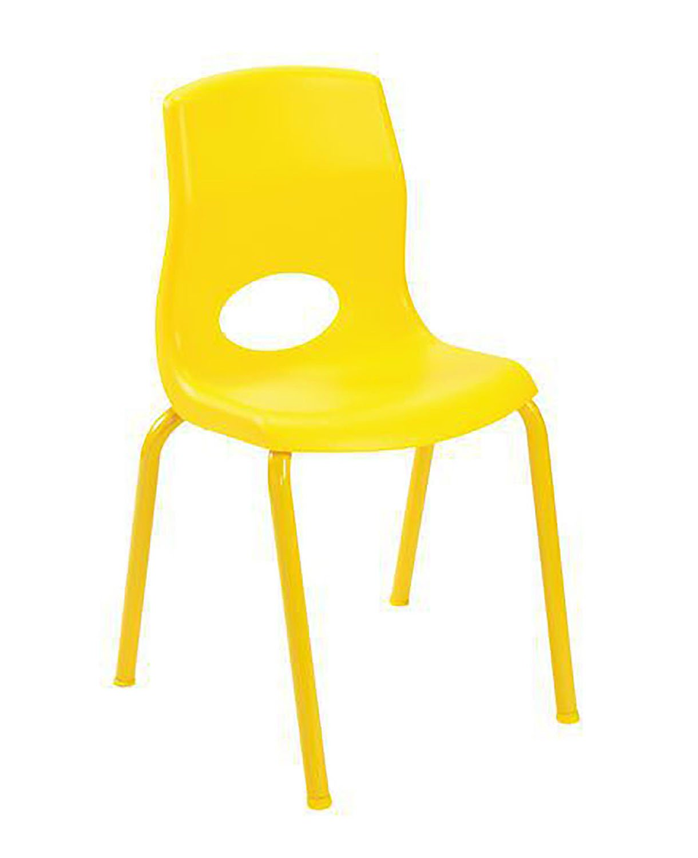 Phenomenal Amazon Com 14 In Kids Heavy Duty Chair In Yellow Kitchen Unemploymentrelief Wooden Chair Designs For Living Room Unemploymentrelieforg