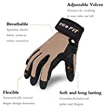 Intra-FIT Climbing Gloves Rope Gloves,Perfect for