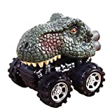 Falaiduo Kids Day Gift Toy Dinosaur Model Mini Toy truck Toy Gift for boys (# C)