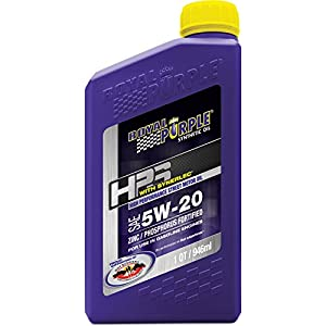 Royal Purple ROY31520 5W20 HI PERF STREET Oil, 1 quart, 6 Pack