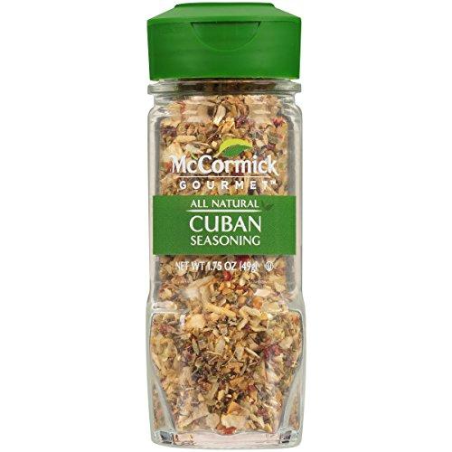 McCormick Gourmet Cuban Blend, 1.75 oz (Cuban Food)