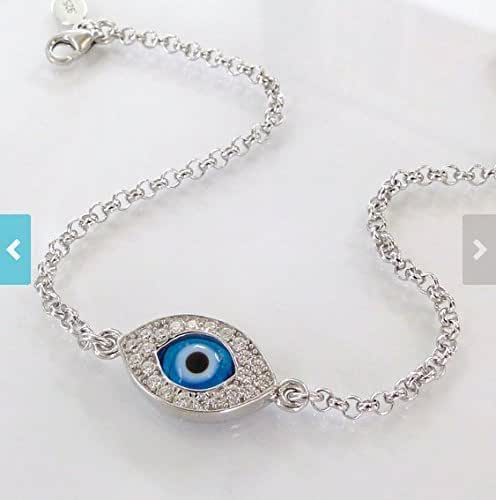 Evil eye bracelet as seen on kim kardashian for Selling jewelry on amazon