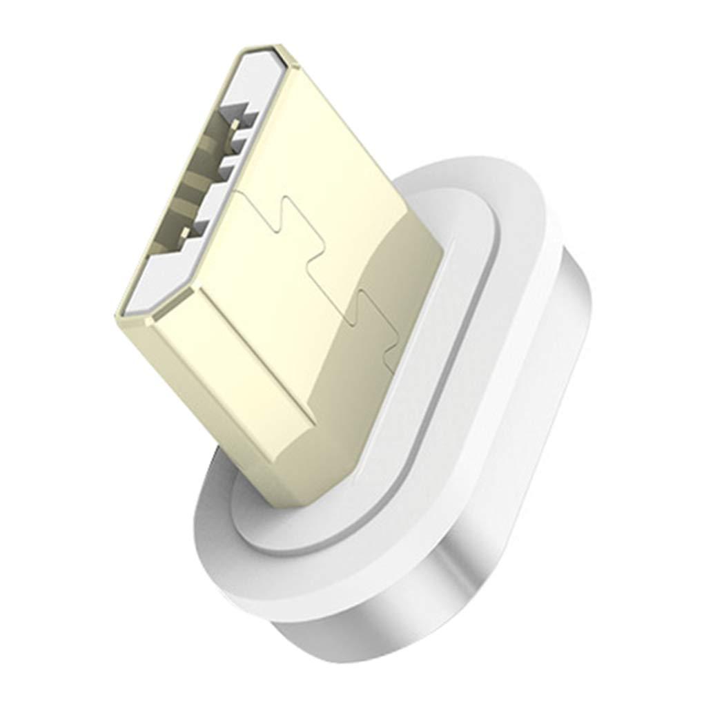 fish Carga USB Tipo C 8 Pin Im/án reemplazo magn/ética L/ínea de Cable Micro Fast Adaptador de Cargador para el iPhone//iPad//Xiaomi//Huawei//Samsung