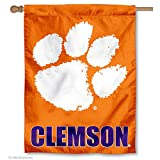 Clemson University Tigers House Flag