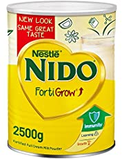 مسحوق حليب كامل الدسم من نيدو وزن 2500 غرام