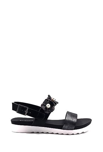 f066240b6b63 CHIC NANA White Flatform Sandals.  Amazon.co.uk  Shoes   Bags