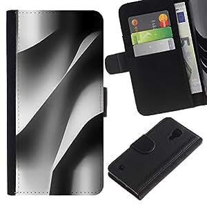SAMSUNG Galaxy S4 IV / i9500 / SGH-i337 Modelo colorido cuero carpeta tirón caso cubierta piel Holster Funda protección - Building Architecture Paper Engineering