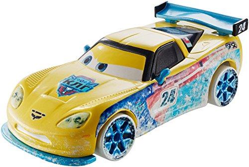 e Racers 1:55 Scale Diecast Vehicle, Jeff Gorvette (Disney One Ice)