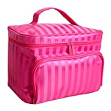 THEE Women Travel Toiletry Bag Cosmetic Makeup Kit Pouch Handbag Organizer