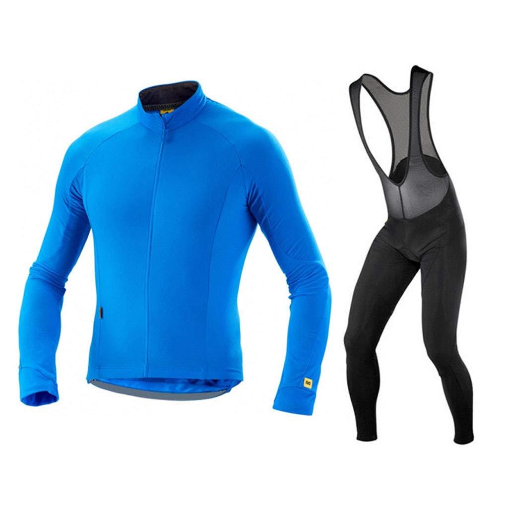 Lilongjiao Frühling und Herbst langärmelige Herren Jersey Anzüge Mountainbike Reitanzüge im Freien Radfahren Sportswear