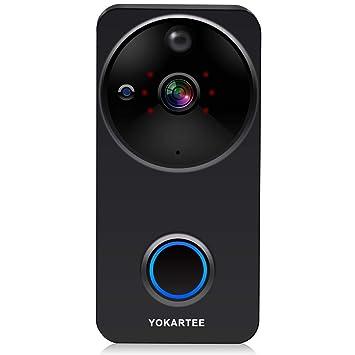 Amazon com: Smart Wireless Video Doorbell Camera 1080P WiFi