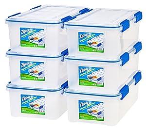 Amazon Com Ziploc Weathershield 16 Quart Storage Box 6