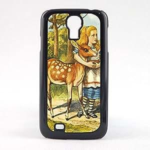 Case Fun Case Fun Alice in Wonderland The Fern Snap-on Hard Back Case Cover for Samsun Galaxy S4 Mini (I9190)