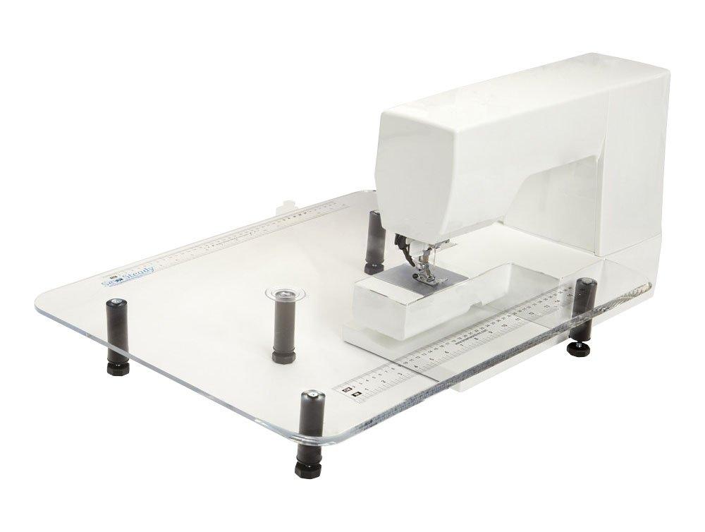 Sewsteadyポータブル裁縫テーブルfor BabyロックKatherineマシン L クリア BL155 Large  B01DY4AMX8