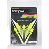 Vevo Sports Inflation needles by Ball Spike - 5 Pack Yellow