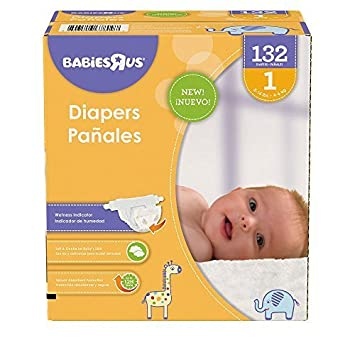 Babies R Us Size 1 Super Pack Diapers - 132 Count by Babies R Us