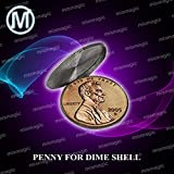 M is magic Magic Tricks penny for dime shell