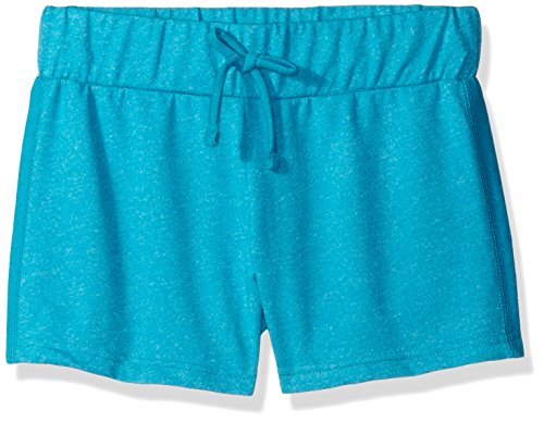 Champion Little Girls French Terry Short, Bali Blue, Large