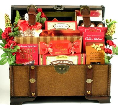 My Wonderful Valentine! -Deluxe Valentine's Day Gift Basket of Magnificent Gourmet Foods by Organic Stores