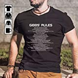 Leroy Jethro Gibbs Rules T-Shirt, Long Sleeve, Sweatshirt, Hoodie for men and women