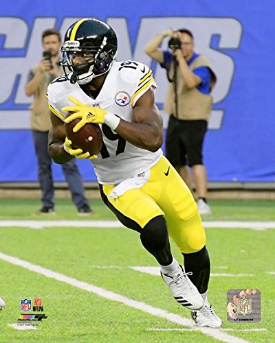 best service db765 9e23d Amazon.com: JuJu Smith-Schuster Pittsburgh Steelers Action ...