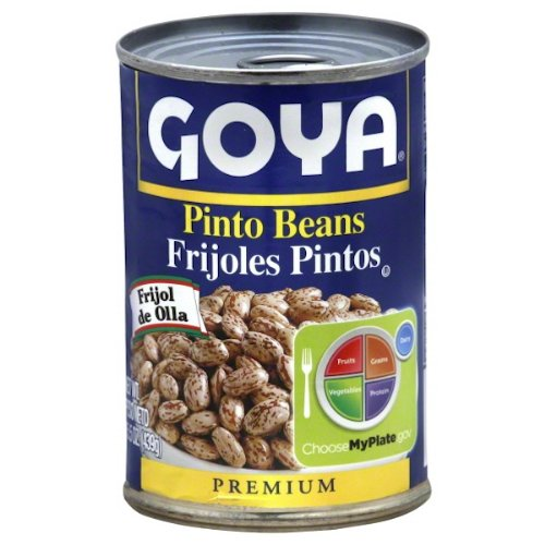 Goya Pinto Beans, 15.5 Ounce (Pack of 24)