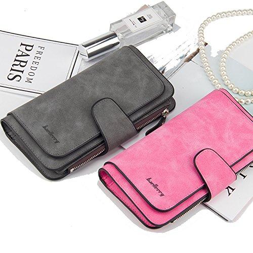 Wallet for Women RFID Blocking Clutch Purse Long Ladies Credit Card Holder Organizer