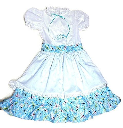 Blue Dragonfly Dress size 7 ()